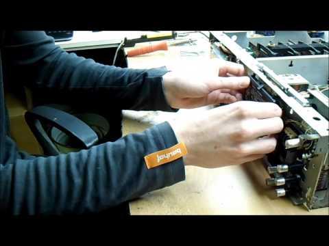 настройка лентопротяжного механизма видеомагнитофона