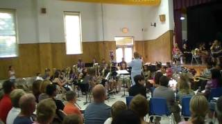 HMMS 6th Grade Band 2011