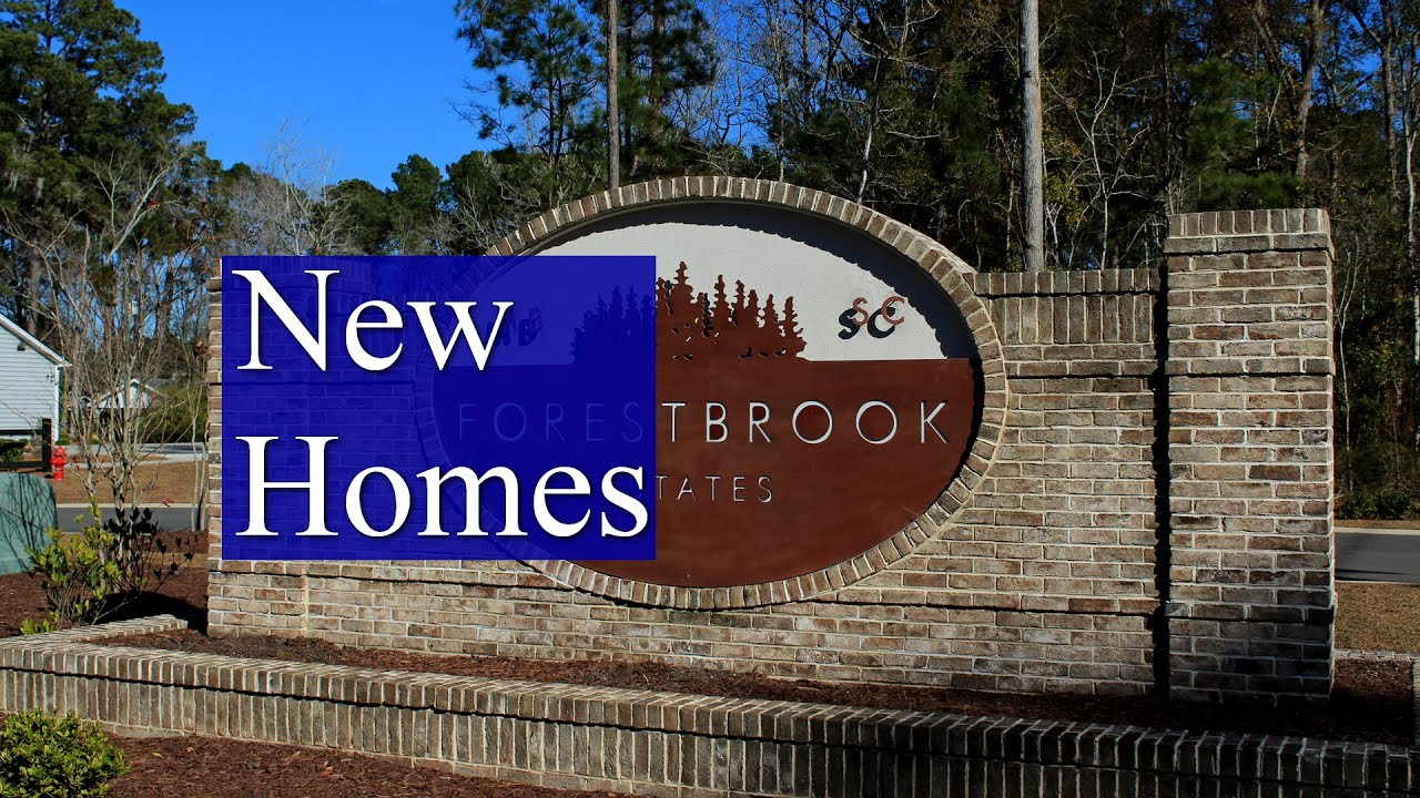 New Homes in Myrtle Beach SC - Forestbrook Estates in ...