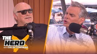 Terry Bradshaw on social media being trouble: 'I wanted to be Namath' | THE HERD | LIVE FROM MIAMI