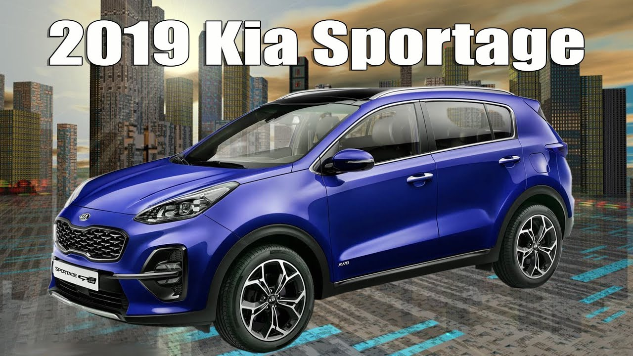 new 2019 kia sportage facelift unveiled first official. Black Bedroom Furniture Sets. Home Design Ideas
