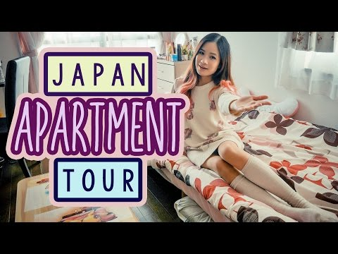 My JAPANESE APARTMENT TOUR | Small Japanese Apartments | KimDao in JAPAN