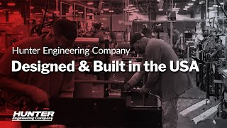 Automotive Equipment Made in the USA by Hunter Engineering