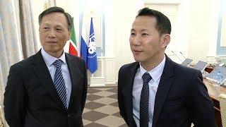 Визиты делегаций Тайваня и Китая в КФУ