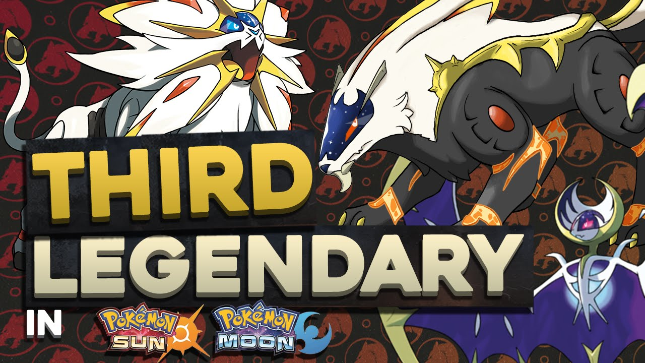 third legendary in pokemon sun and moon concept pokemon sun and