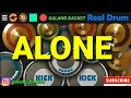 ALONE_ALAN WALKER_REAL DRUM COVER BY : GALANG BACKET