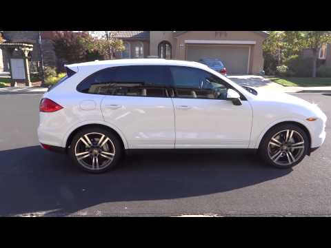 2013 Porsche Cayenne S AWD Fully Loaded in White for sale - Star City Motors