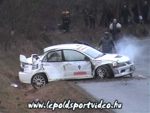Crash lencse hofbauer orf rallysprint 2012 youtube for Hofbauer roland