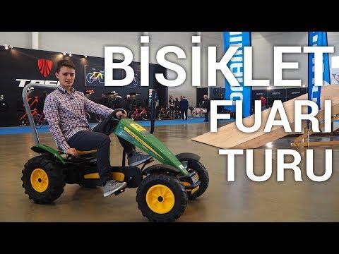 BİSİKLET FUARI TURU — 2018 Modeller | Traktör Vlog