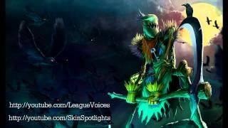 Fiddlesticks Voice - English - League of Legends