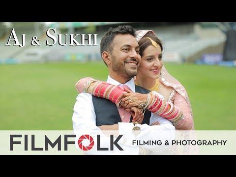 Amazing Sikh Wedding at GNNSJ Gurdwara & Edgbaston || Wedding Video by FilmFolk