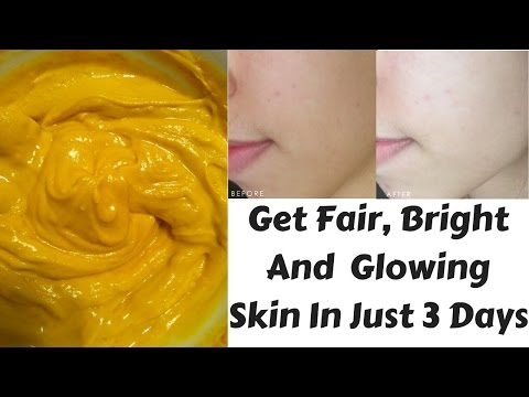 How To Brighten & Revitalize Dull Skin In Just 3 Days | Face Mask For Fair, Glowing & Bright Skin