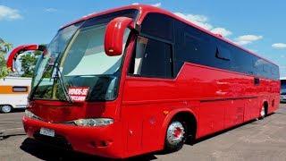 VENDE-SE (R$450.000,00) Motorhome Com Garagem - Volvo B10, 1991, Home 2014/15.