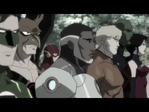 All DC Animated Universe Movie Trailers | (2013-2019) DCAU |