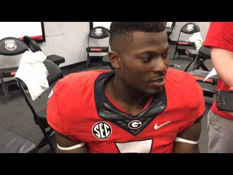Lorenzo Carter talks about Jacob Eason and having a full stadium for G Day