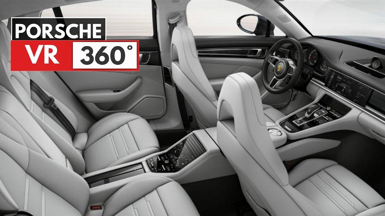 Vr 2017 Porsche Panamera Interior 360 Youtube