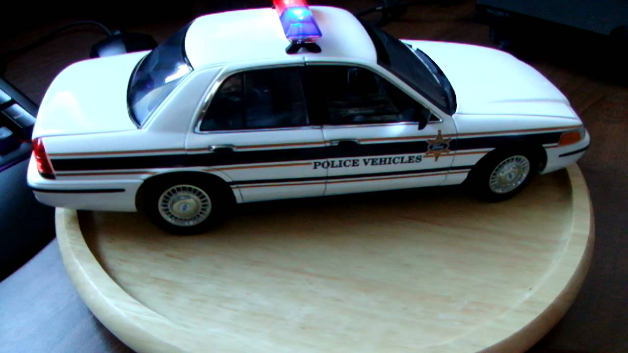 Ford Crown Victoria Police Car W Lights Mod Custom Built Leds