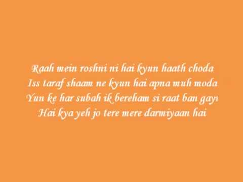 Bin Tere Lyrics   I Hate Luv Stories