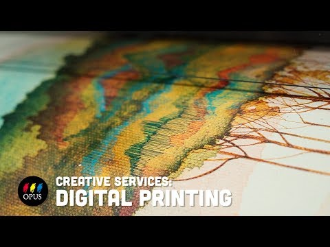 Creative Services: Digital Printing