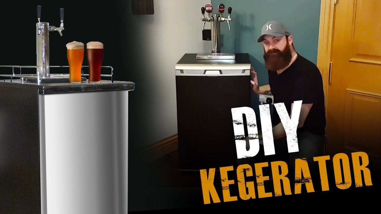 DIY) How to Build a Kegerator from
