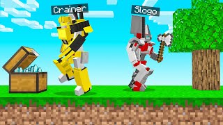 Trying To Play Normal MINECRAFT As TRANSFORMERS!