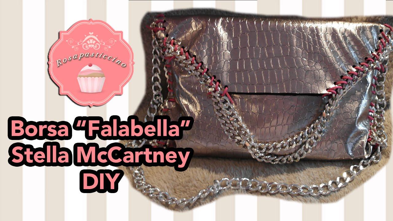 933bbd1ec6 Come fare la borsa Falabella di Stella Mccartney fai da te DIY by  Rosapasticcino