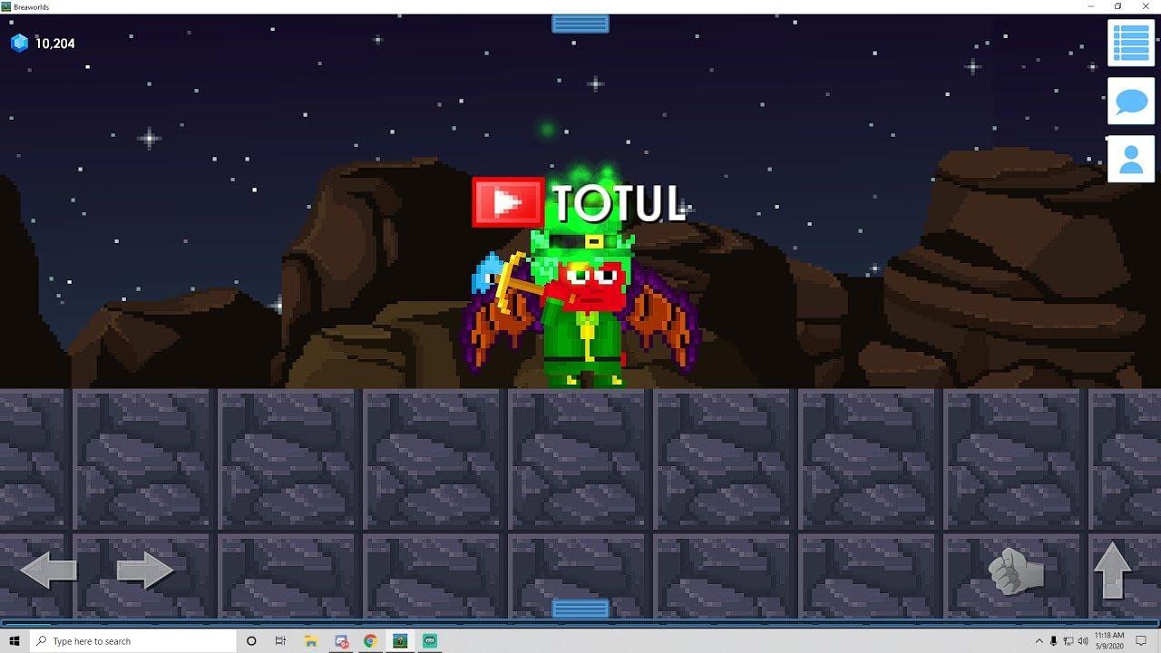 Breaworlds livestream (download link in description)