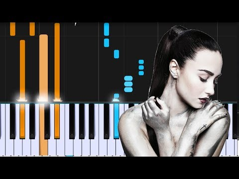 """Demi Lovato - """"Sober"""" Piano Tutorial - Chords - How To Play - Cover"""