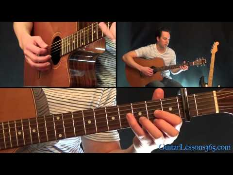 The Beatles - Norwegian Wood Guitar Lesson - Acoustic