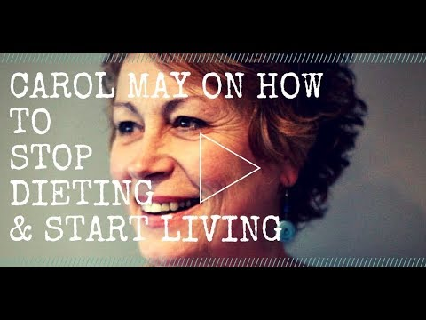 How to stop dieting and start living