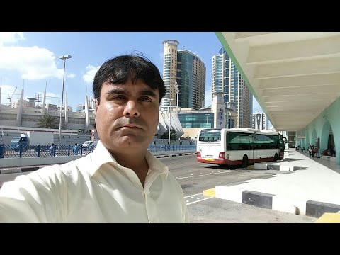 Abu dhabi main bus terminal.
