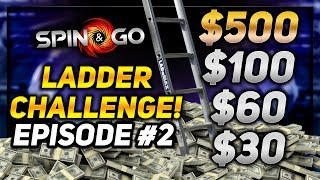 *WARNING* MAY CONTAIN TILT!!! - SPIN & GO LADDER CHALLENGE!! Ep #2 | PokerStaples Stream Highlights