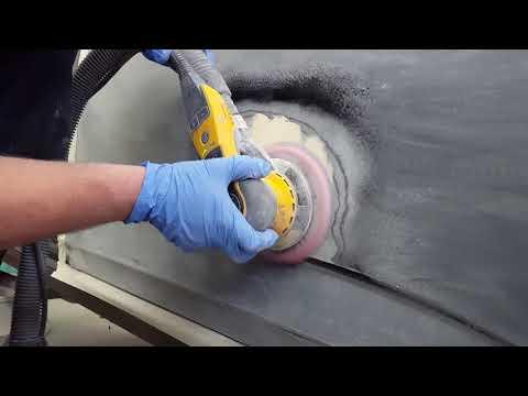 Car Repair:putty by machine and masking