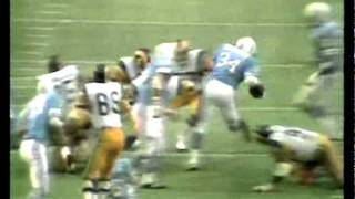 Houston Oilers - Earl Campbell runs over Rams (Original Commentary)