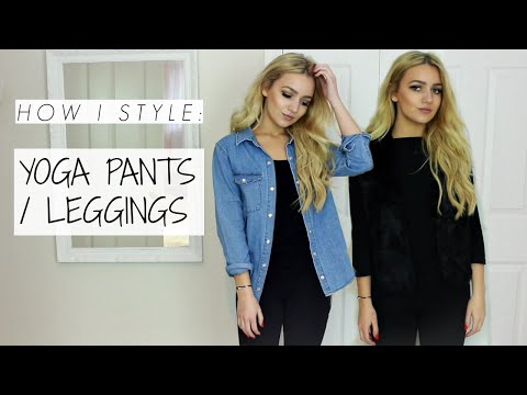 How I Style: Leggings / Yoga Pants / Petite Lookbook
