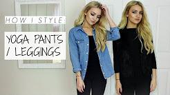 How I Style: Leggings / Yoga Pants / Petite Lookbook