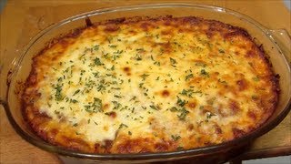 Beef And Noodle Casserole - Italian Pasta Bake - Recipe