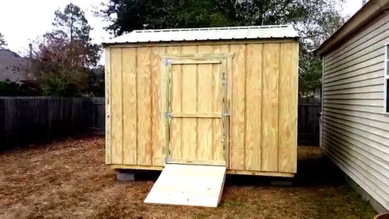 10x12 gable shed shed plans stout sheds llc youtube for Gable sheds