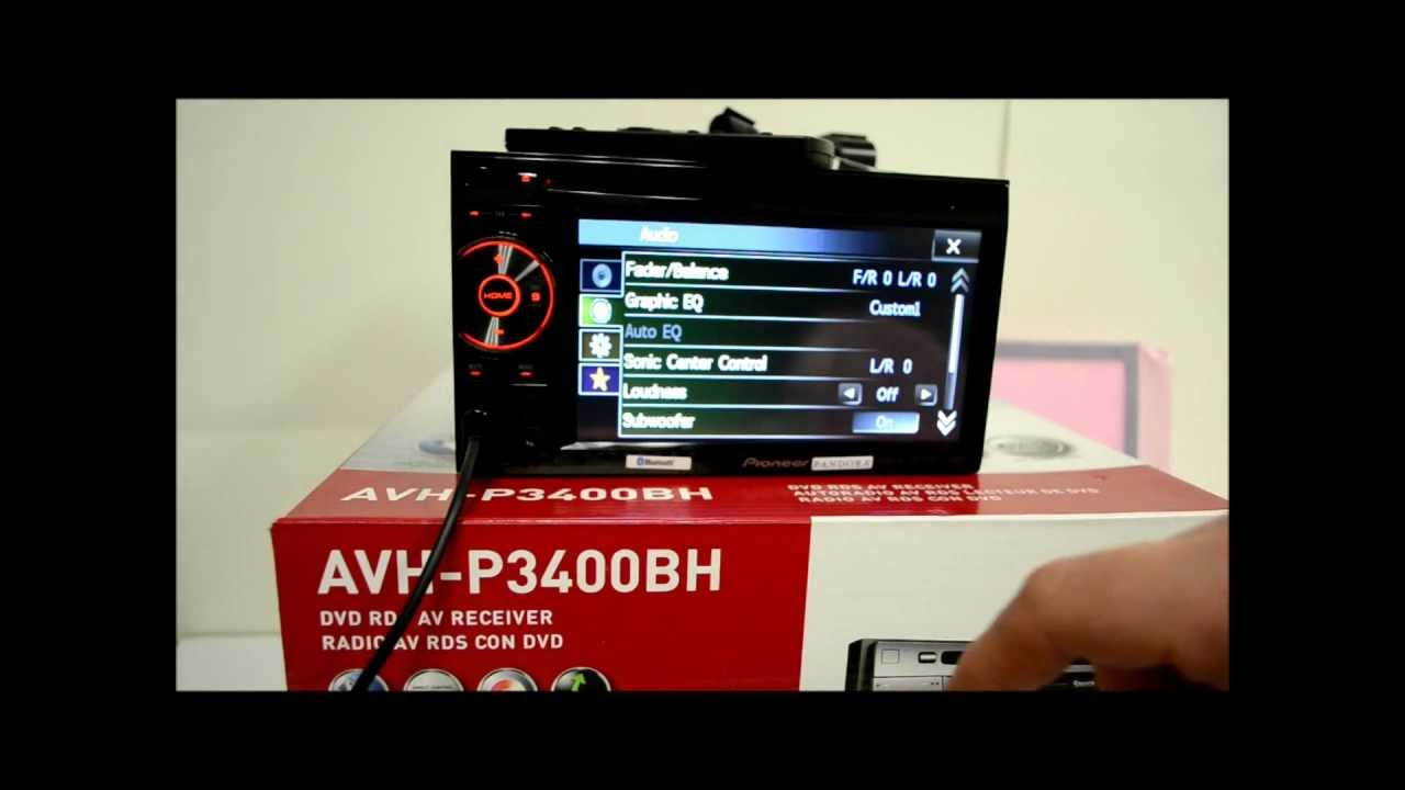 pioneer avh-p3400bh  u0026 avh-p2400bt detailed review