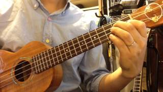 Let It Go / Frozen ukulele solo レット イット ゴー アナと雪の女王 ...