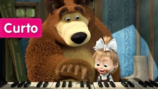 Masha e o Urso - A Lição de Piano 🐻(O Urso e o piano)