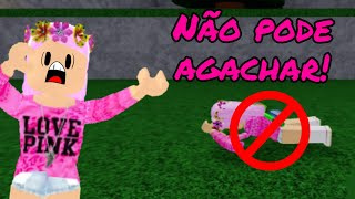 You can't CROUCH in the MARRETÃO! (Roblox Challenge)
