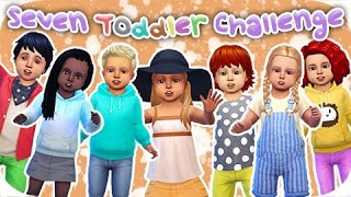 The Sims 4 Seven Toddler Challenge | Part 2 - Potty Training!