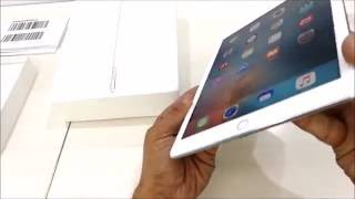 Apple iPad Pro 9.7 (Silver) Unboxing - A1673 (Wifi Only)