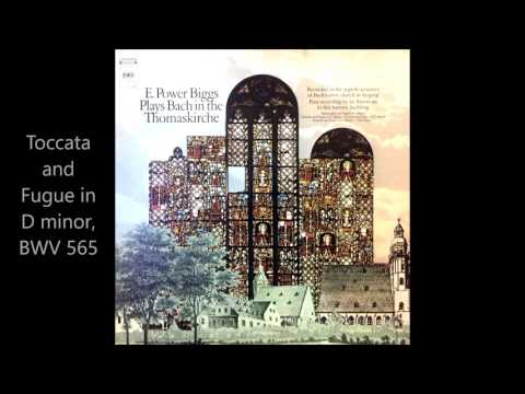 E. Power Biggs Plays Bach in the Thomaskirche (Vinyl)
