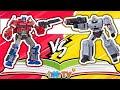 Robot đại chiến đồ chơi Transformers hoạt hình - Ô tô robot biến hình Transformer Toy | tiNiTV
