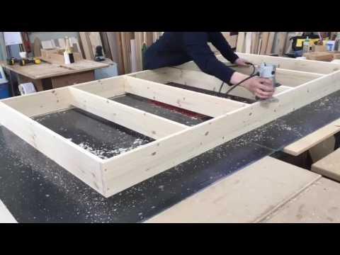 광주가구공방 리퍼니처 소나무원목 이층벙커침대 만들기