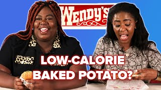 Fast Food Lovers Try Low-Calorie Items From Wendy's