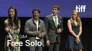 FREE SOLO Cast and Crew Q&A | TIFF 2018