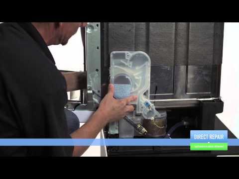 Changer la chambre de compression dans un lave vaisselle - Chambre compression lave linge ...
